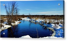 Beautiful Necedah Wildlife Refuge  Acrylic Print by Ricky L Jones