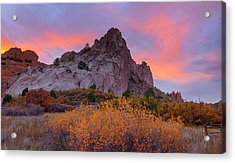 Acrylic Print featuring the photograph Beautiful October by Tim Reaves