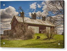 Beautiful Old Barn Acrylic Print by JRP Photography