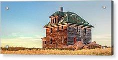 Beautiful Old House Acrylic Print by Todd Klassy