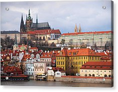 Acrylic Print featuring the photograph Beautiful Old Prague by Jenny Rainbow