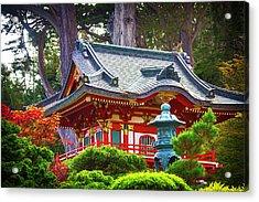 Beautiful Pogaha Golden Gate Park Acrylic Print
