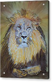 Beautiful Pose Of The King Acrylic Print by Connie Valasco