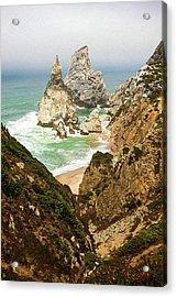 Beautiful Praia Da Ursa In Portugal Acrylic Print