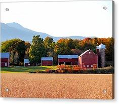 Beautiful Red Barn 4 Acrylic Print