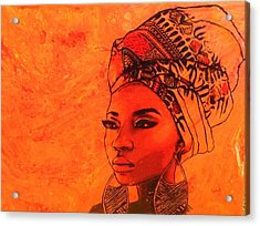 Beautiful Sista Acrylic Print