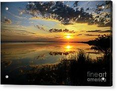 Beautiful Sunset At The Lake Acrylic Print