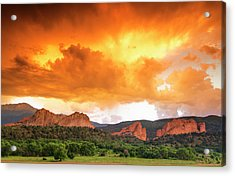 Acrylic Print featuring the photograph Beautiful Sunset by Tim Reaves