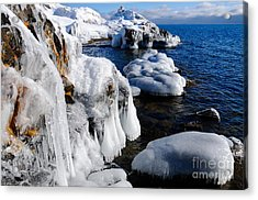 Beautiful Superior Ice Acrylic Print