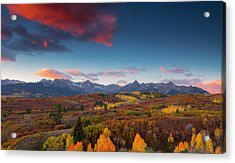 Acrylic Print featuring the photograph Beautiful Tints Of Autumn by Tim Reaves