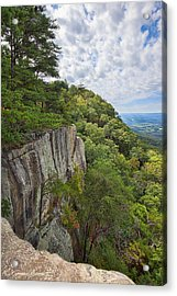 Beautiful View From Sunset Rock On Lookout Mt.  View From Sunset Rock 2 Acrylic Print