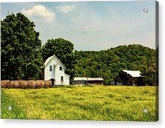 Beautiful West Virginia Acrylic Print by L O C