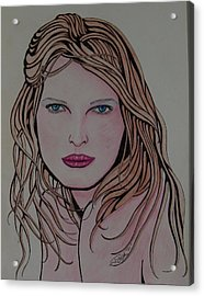Beauty 1 Acrylic Print by Joshua Armstrong