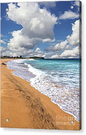 Beauty And The Beach By Kaye Menner Acrylic Print
