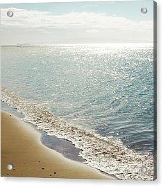 Beauty And The Beach Acrylic Print by Sharon Mau