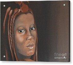 Beauty Acrylic Print by Annemeet Hasidi- van der Leij