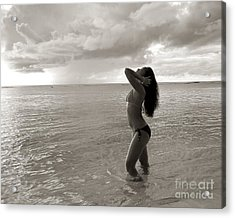 Beauty At The Beach Acrylic Print by Scott Cameron