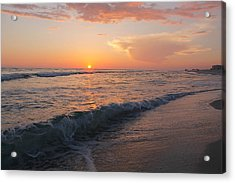Beauty Before The Sun Acrylic Print by Jessica Pate