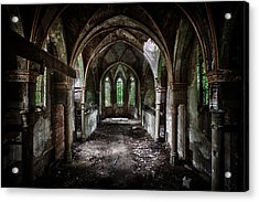 Beauty In Decay Acrylic Print