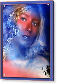 Beauty In The Clouds Acrylic Print