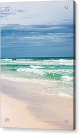 Beauty In The Ocean Acrylic Print by Shelby Young