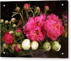 Beauty In The Whole Foods Flower Dept. Acrylic Print