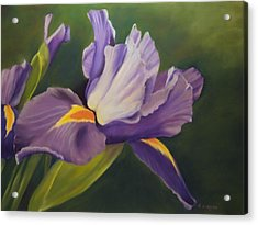Beauty Is In The Iris Acrylic Print