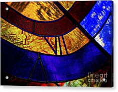 Beauty Of Color Acrylic Print by Rick Bragan