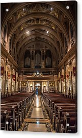 Beauty Of Religious Architecture  Acrylic Print by Carlos Ruiz
