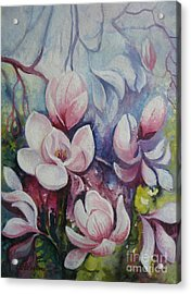 Acrylic Print featuring the painting Beauty Of Spring by Elena Oleniuc