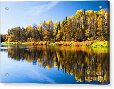 Beauty On The Big Fork Acrylic Print