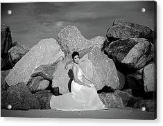 Beauty On The Rocks Acrylic Print