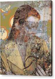 Beauty Rust And Forgetfulness Acrylic Print by Adam Kissel