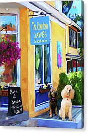 Beauty Shop Acrylic Print