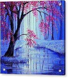 Beauty's Blossom Acrylic Print by Ann Marie Bone