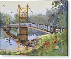 Beaver Bridge Acrylic Print by Spencer Meagher