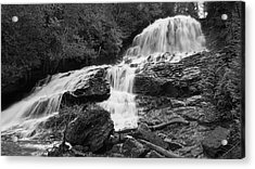 Acrylic Print featuring the photograph Beaver Brook Falls by David Hufstader