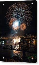 Beaver County Fireworks 2 Acrylic Print