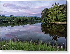Beaver Lake Reflections Acrylic Print