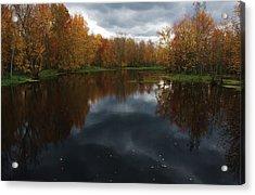 Beaver River Dramatic Acrylic Print