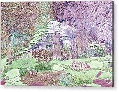 Beckie's Magic Garden Acrylic Print