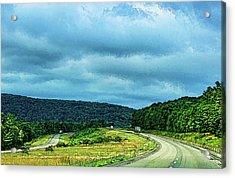 Beckoning Road Acrylic Print