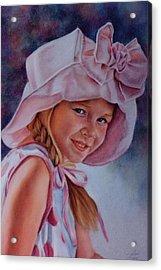 Becky Acrylic Print by Ann Peck