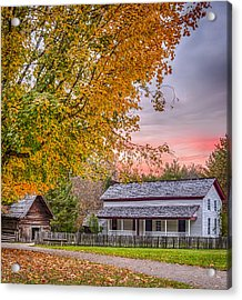 Becky Cabel House Acrylic Print by Tyson and Kathy Smith