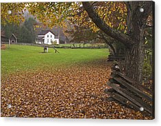 Becky Cable House  Acrylic Print by Harold Stinnette