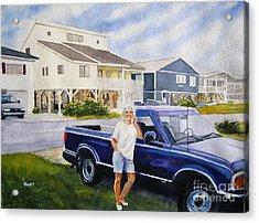 Becky Acrylic Print