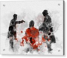 Become Wrath Acrylic Print by Rebecca Jenkins