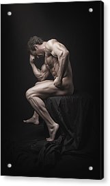 Becoming A Masterpiece Acrylic Print by Marcin and Dawid Witukiewicz