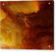 Becoming - Abstract Art - Triptych 3 Of 3 Acrylic Print