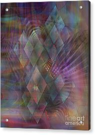 Bedazzled Acrylic Print by John Beck
